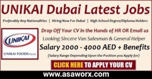 UNIKAI Careers New Vacancies
