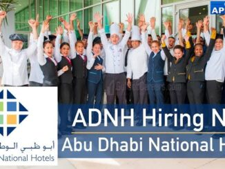 Abu Dhabi National Hotels Jobs For Catering Staff Apply Online