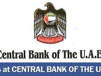 Central Bank Of The UAE Bank Careers - CBUAE Careers
