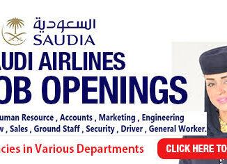 Saudi Airlines Career