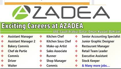 Azadea Group Careers New Vacancies