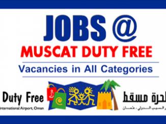 Muscat Duty Free Careers